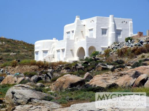 A Cycladic style house on Naxos