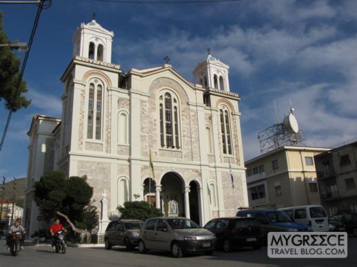 a church in Vathi