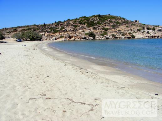 Achivadolimni Beach on Milos