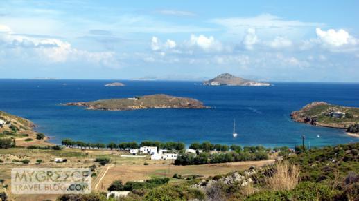 Agriolivadi Bay on Patmos