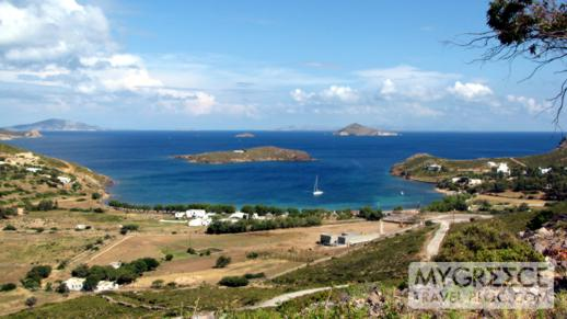 Agriolivadi Bay on Patmos
