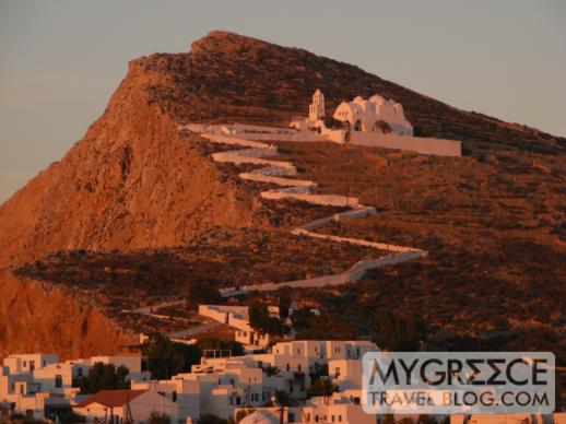 The Panagia Church on Folegandros