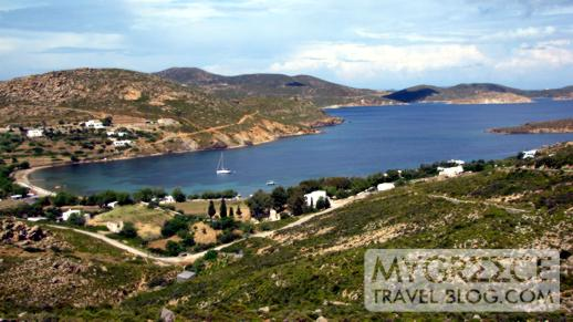 Gorgeous Agriolivadi Bay on Patmos