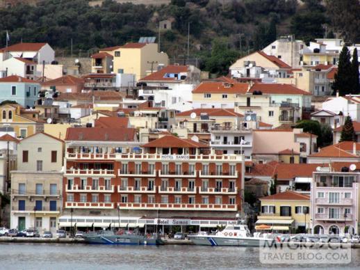 Hotel Samos in Vathi