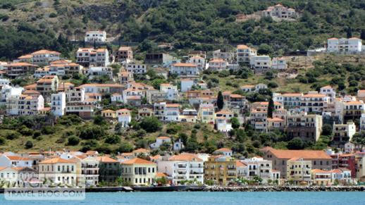 Houses in Vathi on Samos