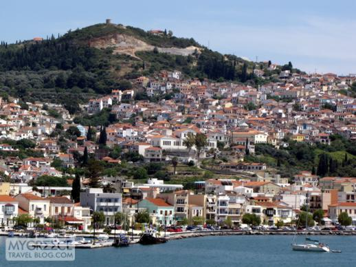 Vathi, the main port town on Samos