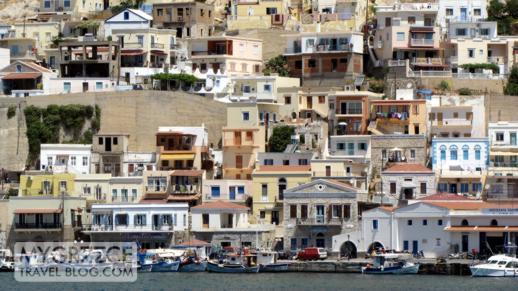 Pothia harbour at Kalymnos