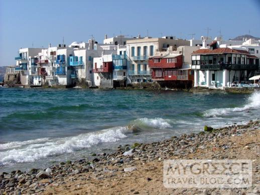 Little Venice on Mykonos