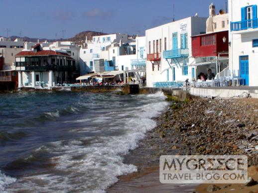 Little Venice on Mykonos Town
