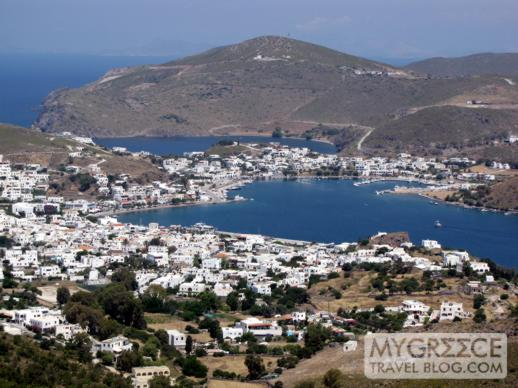 Skala the port and main town on Patmos