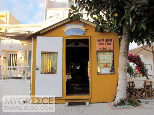 Mary's House restaurant in Kos Town