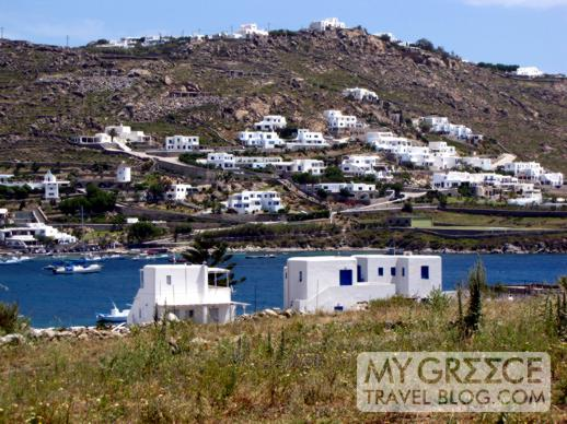 Ornos bay on Mykonos