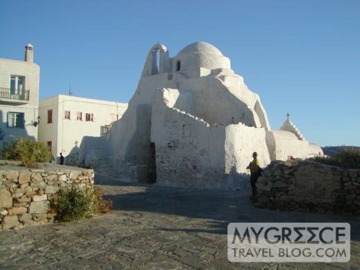 Paraportiani Church in Mykonos Town