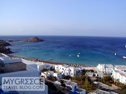 Platis Gialos area of Mykonos