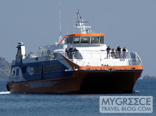Dodekanisos Seaways highspeed catamaran ferry