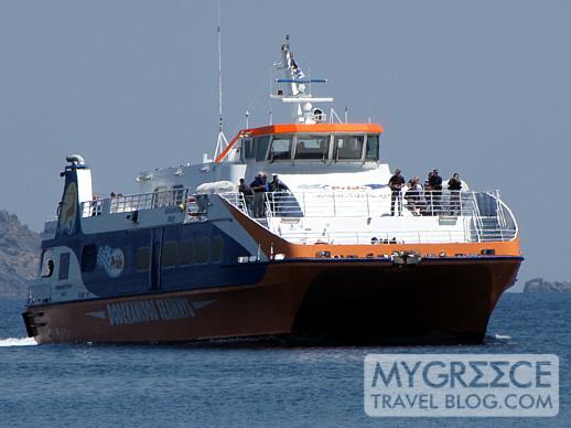 Dodekanisos Seaways highspeed catamaran ferry