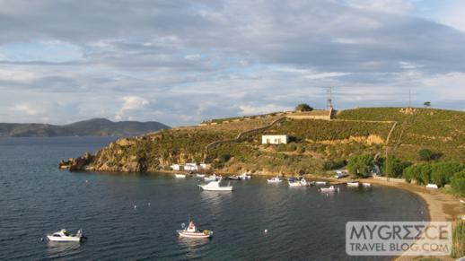 Sapsila Bay on Patmos