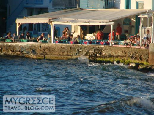 Little Venice in Mykonos Town