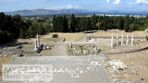 The Asklepieion ruins near Kos Town