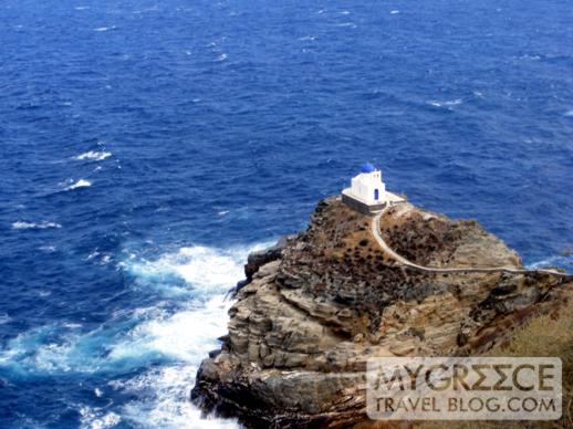 The Chapel of Seven Martyrs below Kastro on Sifnos