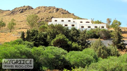 Hotel Golden Sun at Grikos Bay on Patmos
