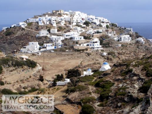 The village of Kastro on Sifnos