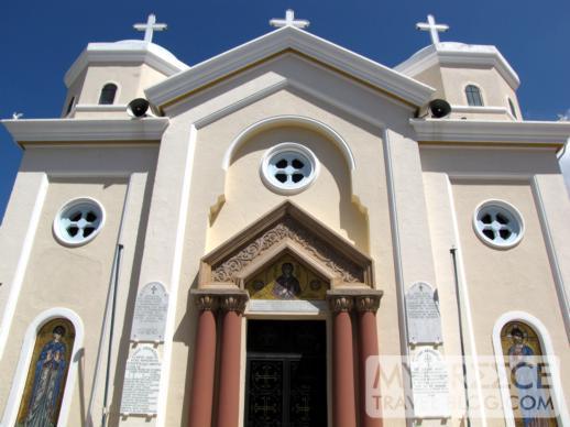 a church in Kos Town