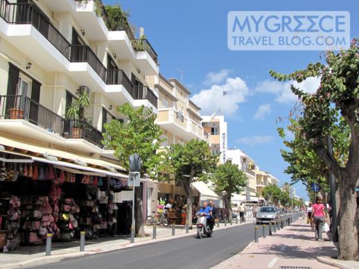 a street in Kos Town