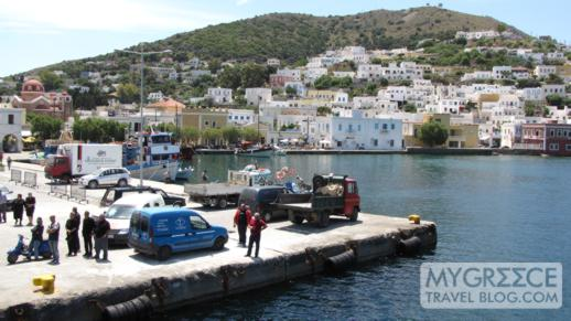 Agia Marina port on Leros