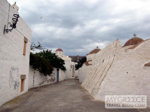 churches in Chora on Patmos