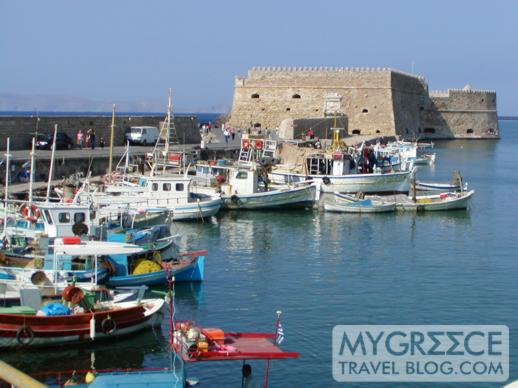 Venetian Fortress at Iraklion harbour