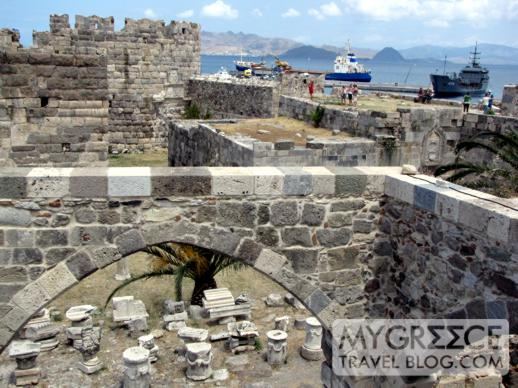 the castle in Kos Town