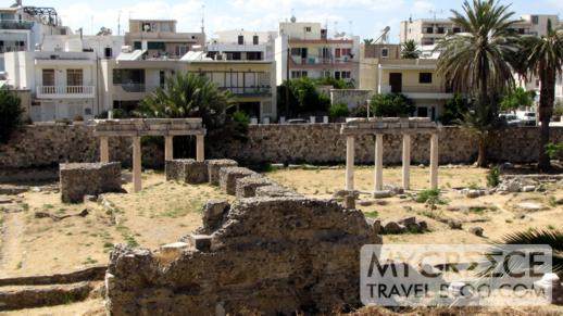 archaeological ruins in Kos town
