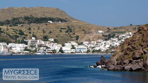 Skala port at Patmos