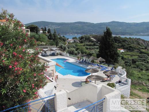 Andromeda Hotel swimming pool