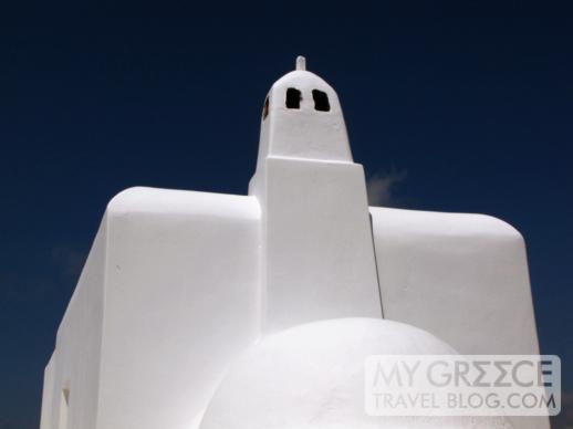 Cycladic architecture on Mykonos