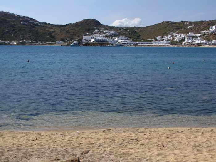 Agia Anna beach on Mykonos