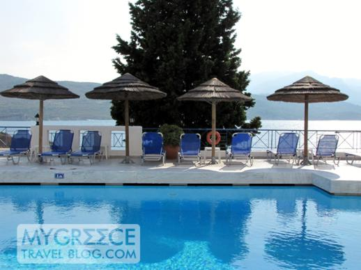 Andromeda Hotel Samos seaview swimming pool