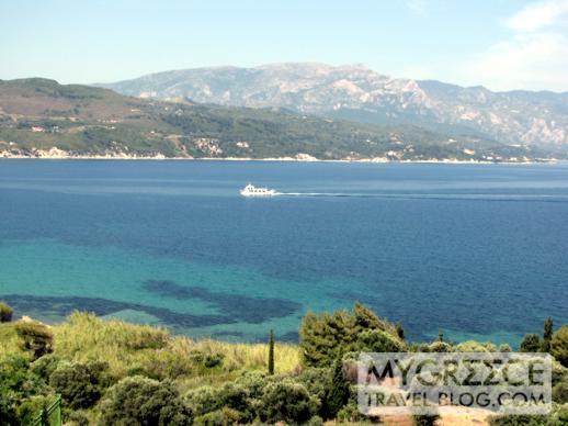 Andromeda Hotel Samos view