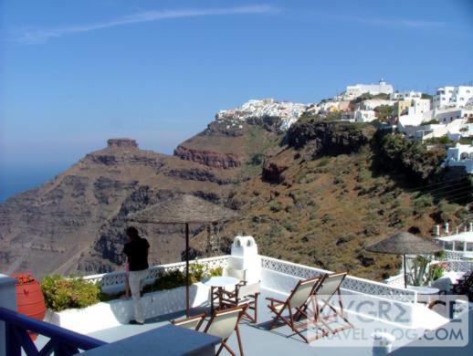 Grotto Villas terrace view