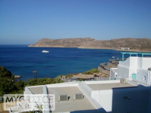 Myconian Imperial Resort balcony view