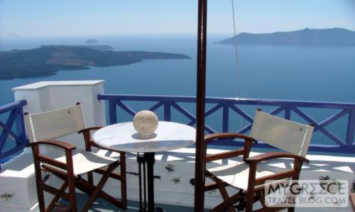 Grotto Villas Room 110 private balcony