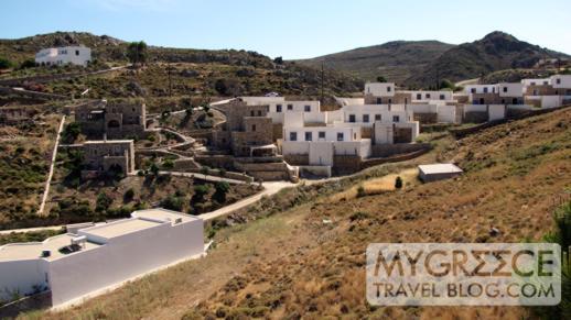 Hotel Golden Sun Patmos breakfast terrace view