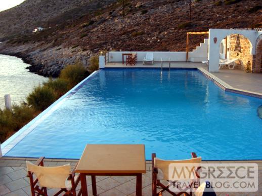 Hotel Delfini swimming pool