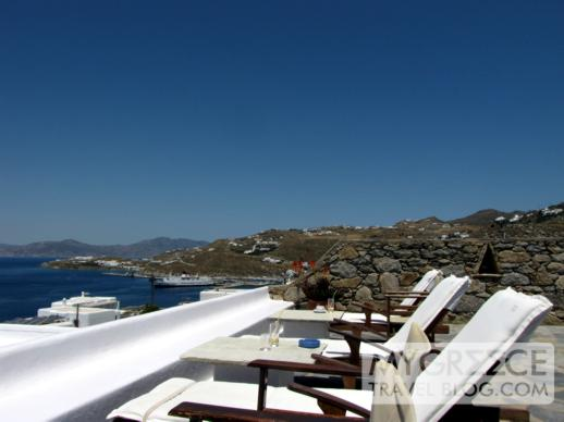 Hotel Tagoo pool deck view