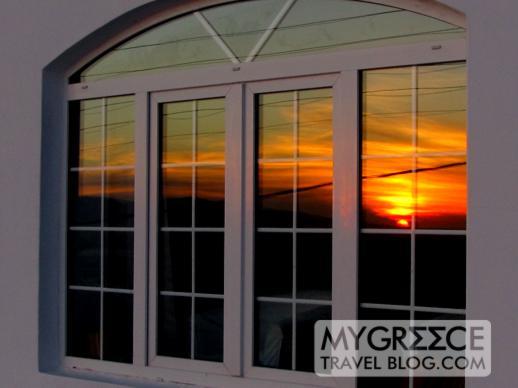 Hotel Tagoo at sunset