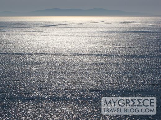 Hotel Tagoo view of the Aegean Sea