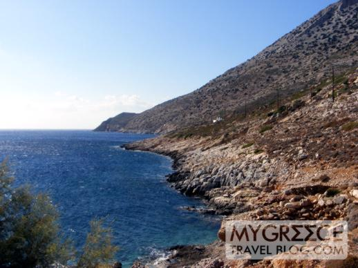 Kamares Bay on Sifnos