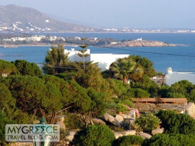 Hotel Kavos Naxos view