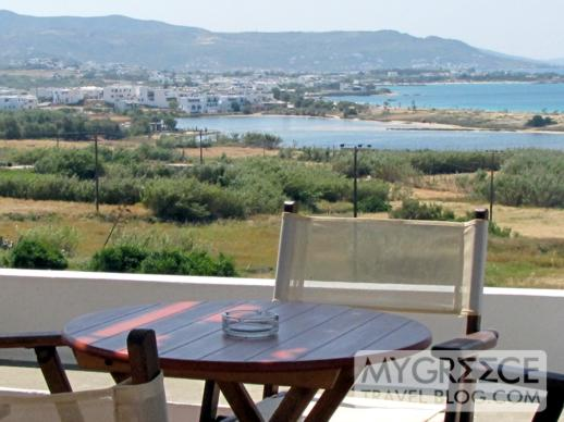 Lianos Village swimming pool terrace views